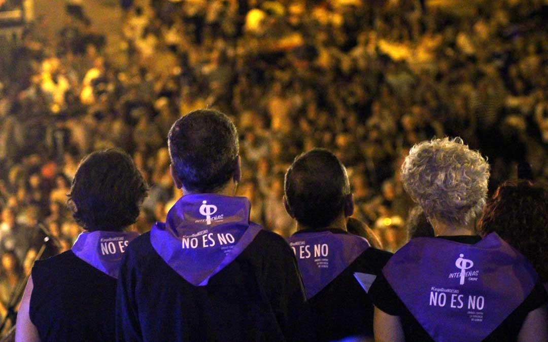 Caspe se une a la lucha contra la violencia machista en las fiestas de los pueblos con el lema 'No es No'