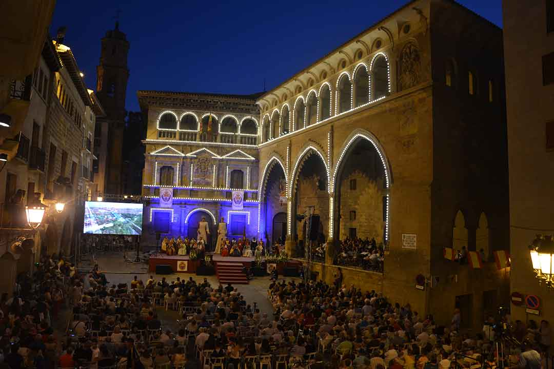 Presentación Reinas 2018 en Alcañiz
