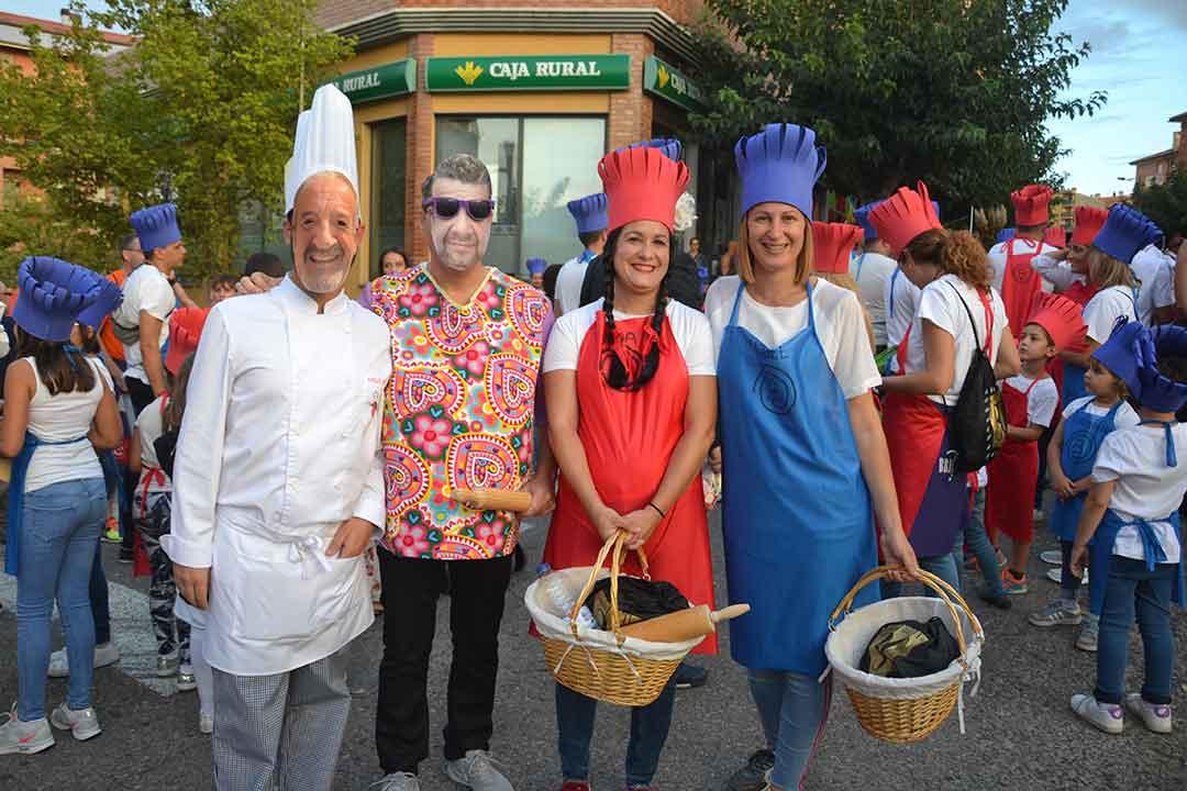 Desfile de carrozas en Alcañiz