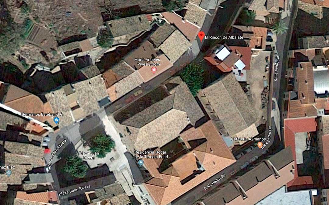 El suceso ocurrió en la avenida de Zaragoza junto a la zona donde se colocan los corrales ya en el casco urbano.