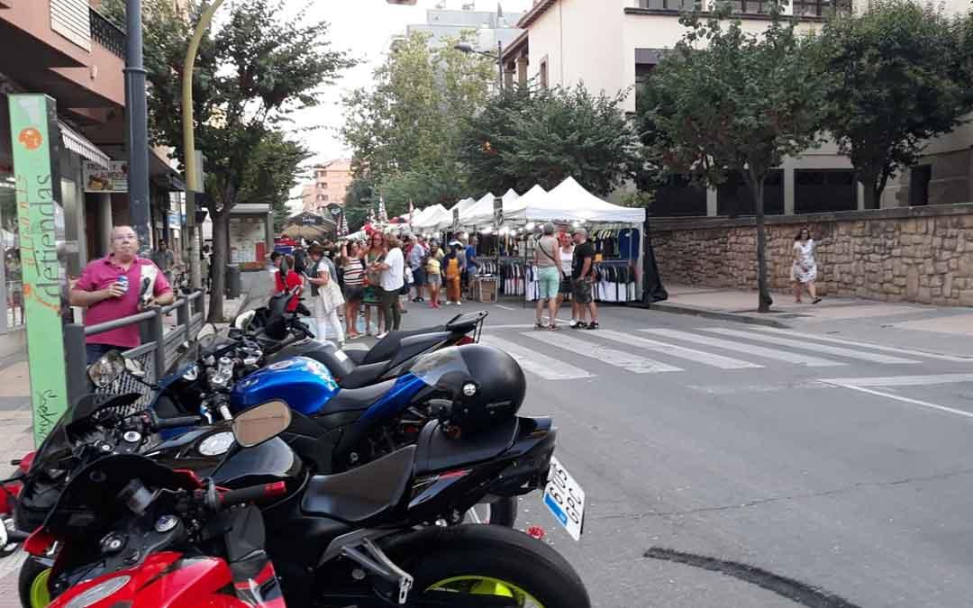 Las motos toman la ciudad. JAVIER DE LUNA