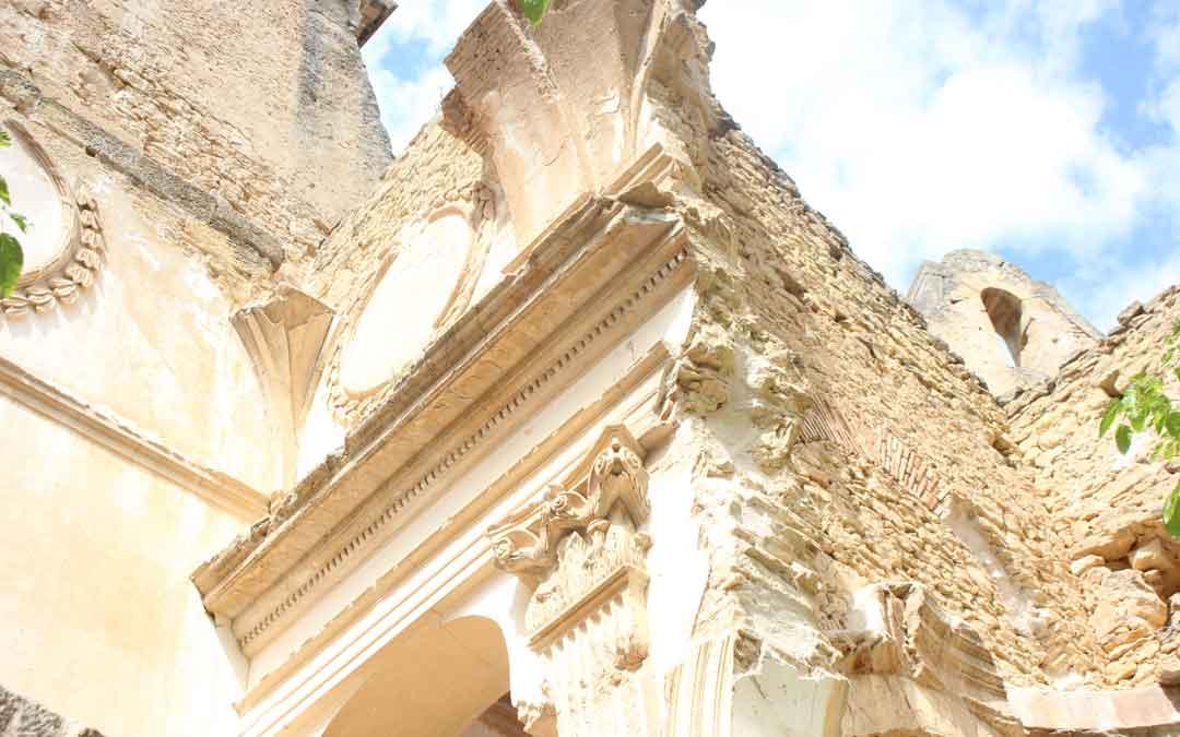 santuario de gracia de la fresneda detalle
