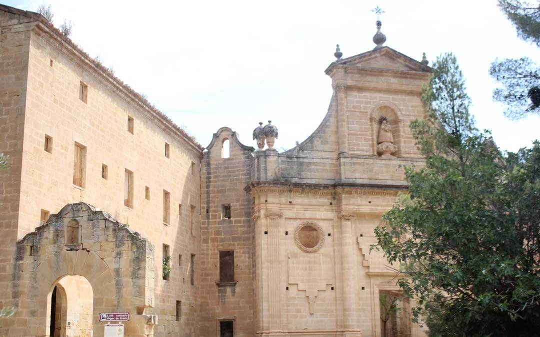 santuario de gracia la fresneda fachada