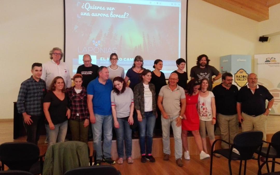 Imagen de los emprendedores participantes en las jornadas celebradas en Soria.