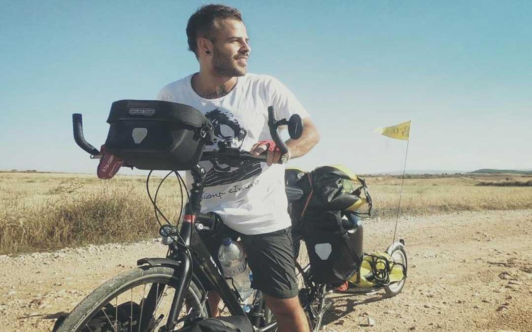 mario bicyclean bici camino
