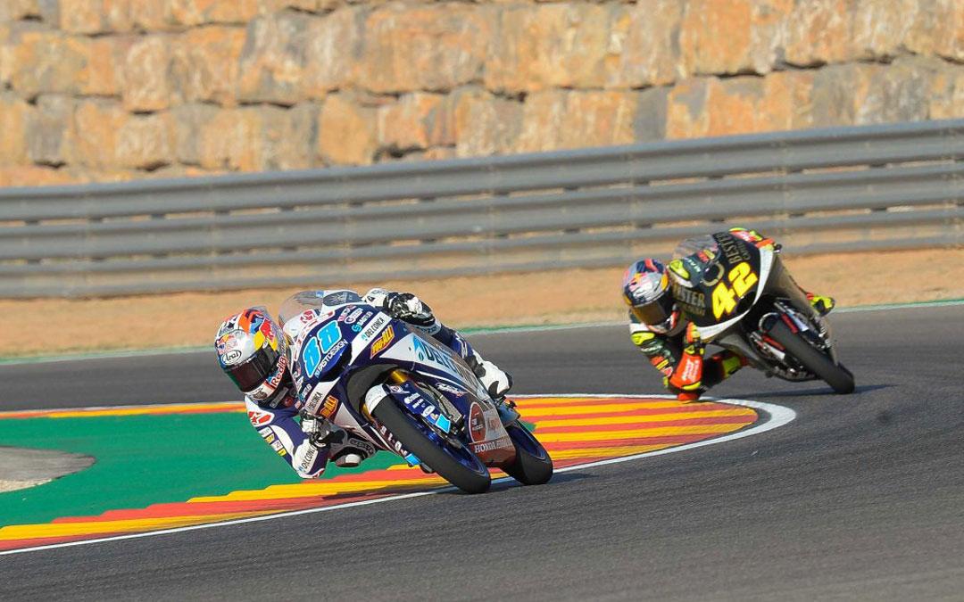 Jorge Martín consigue la pole position. MOTORLAND ARAGÓN