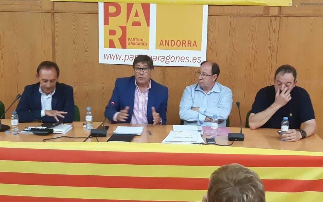 Reunión del Comité Intercomarcal del PAR el viernes en Andorra