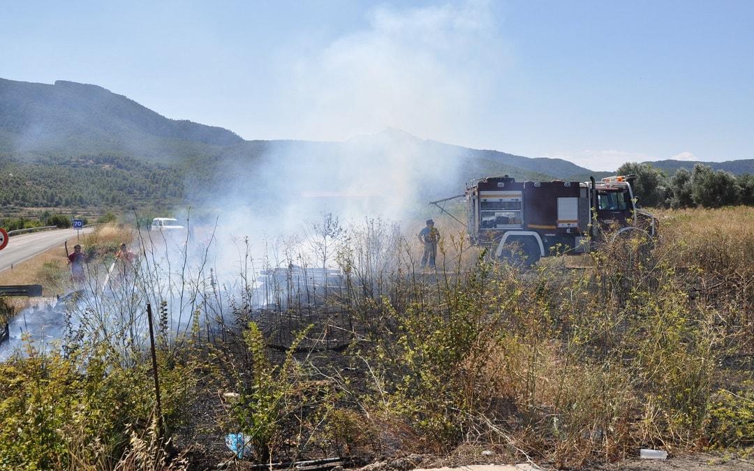 Conato incendio en Valderrobres