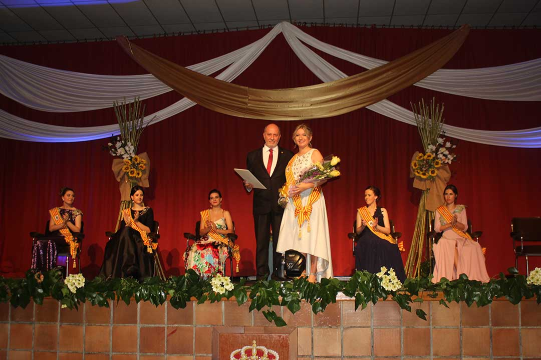 Presentación Reinas y pregón en Calanda
