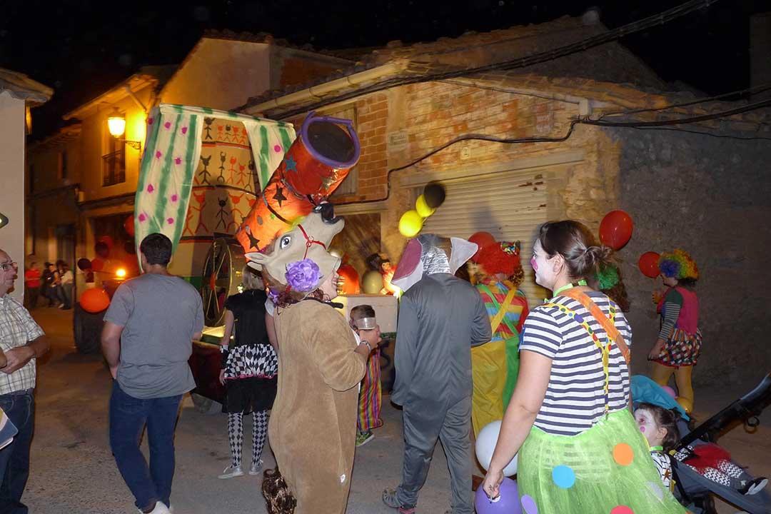 Desfile de carrozas en La Codoñera