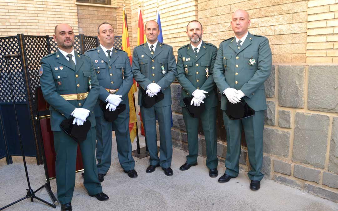 guardia civil alcaniz festividad pilar