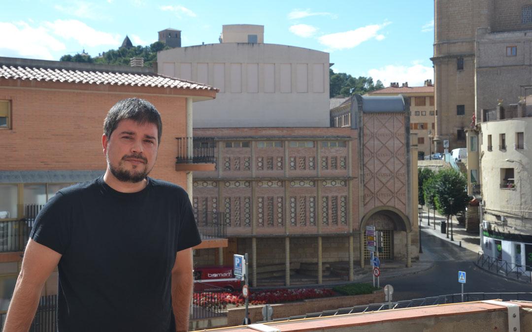 José Manuel Salvador esta semana en La COMARCA.
