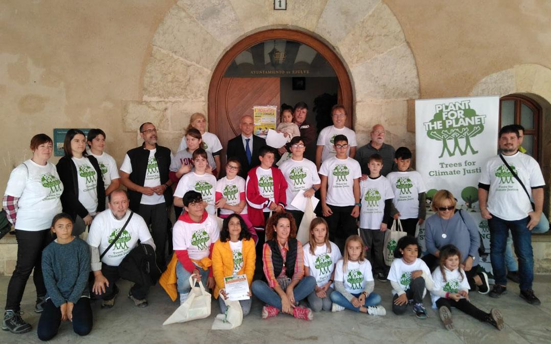 La localidad de Ejulve celebró en octubre una jornada del proyecto 'Clima Rural. Nuestros montes no se olvidan'.