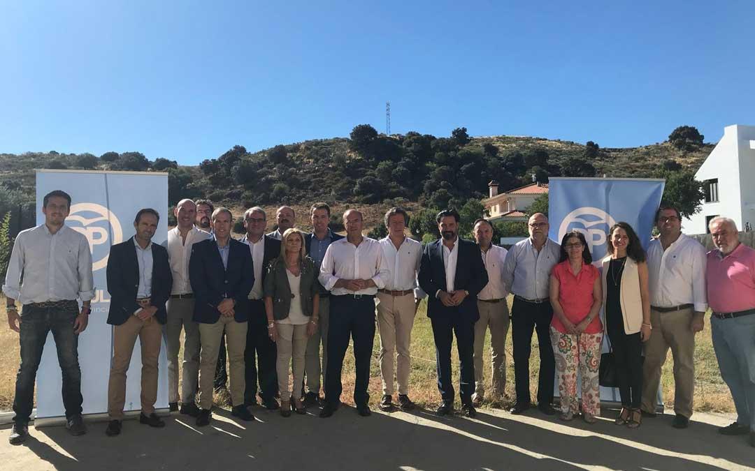 Los populares en Extremadura