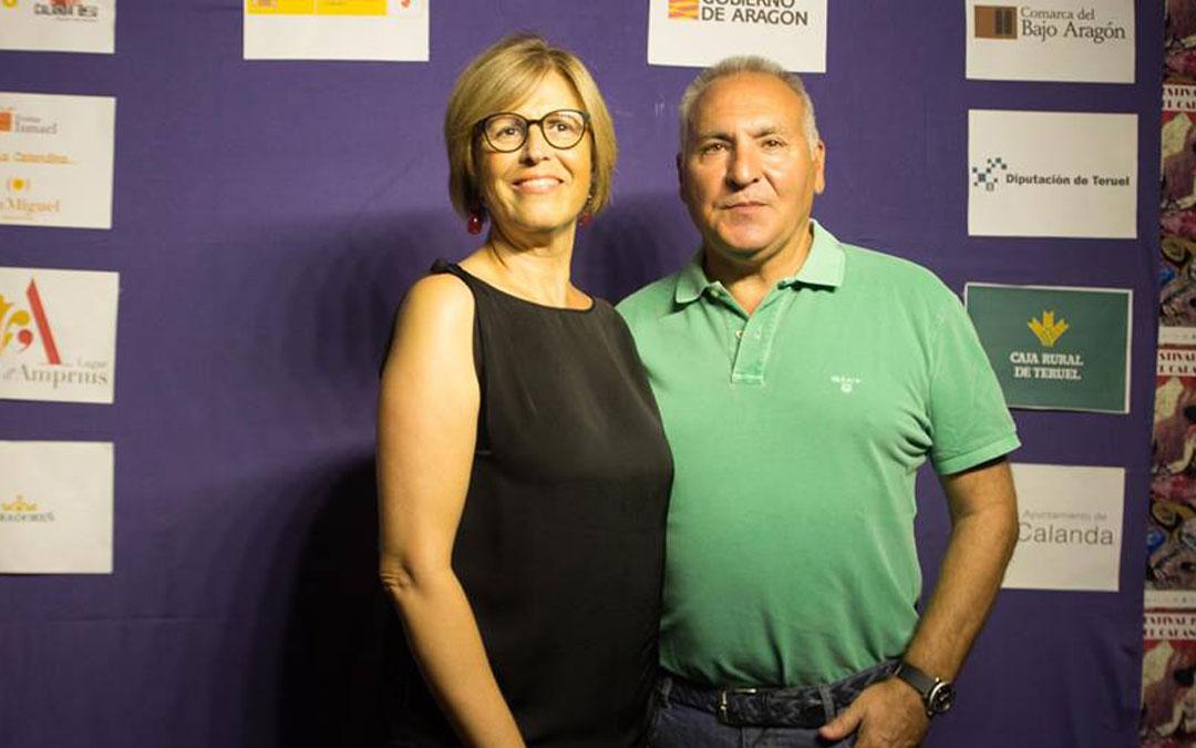 Anabel Beltrán y Fernando Yarza, este verano en Calanda
