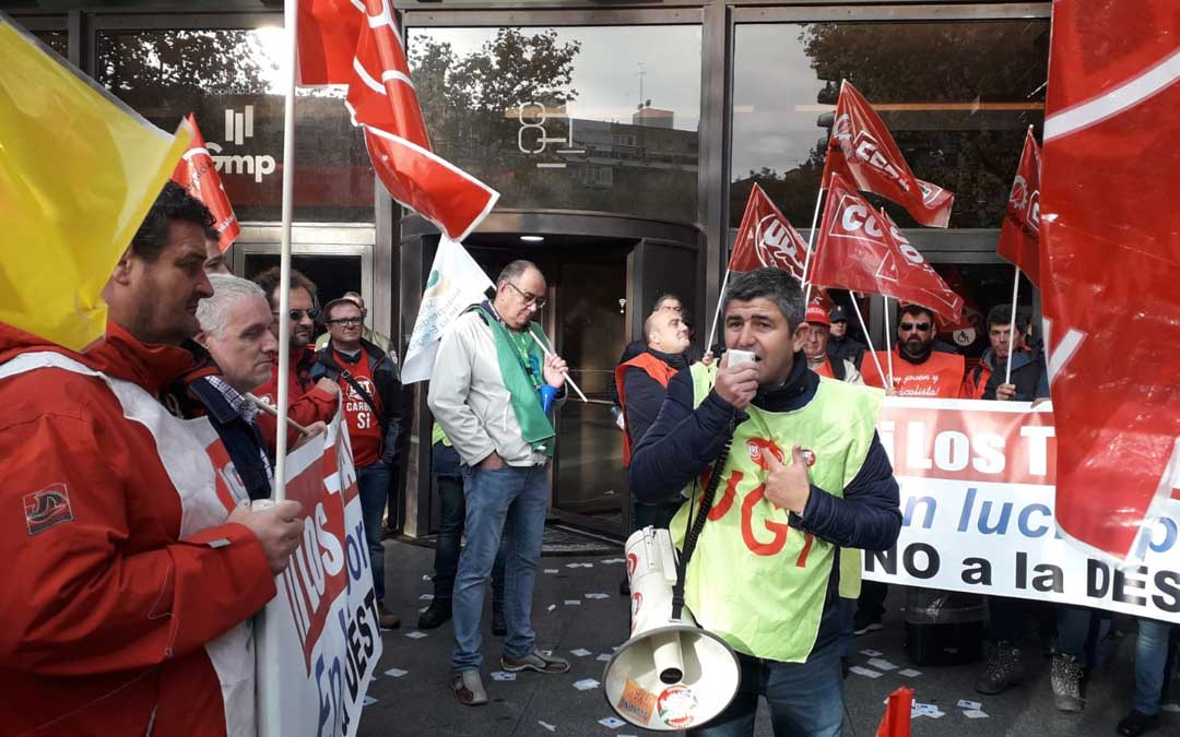 Protesta este viernes en Madrid