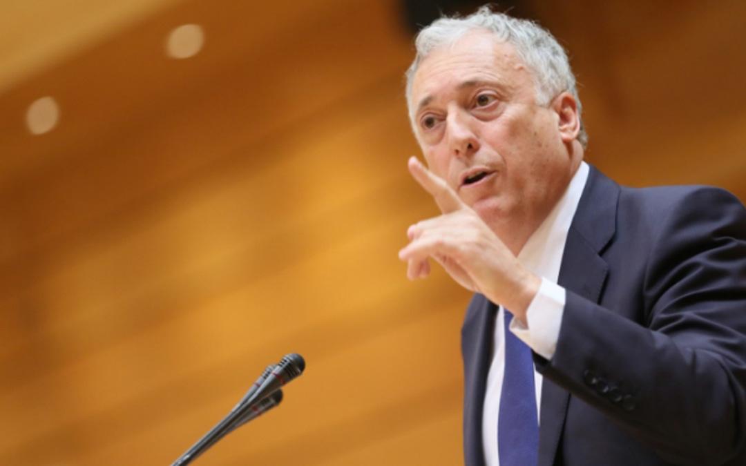 Octavio López en el Senado