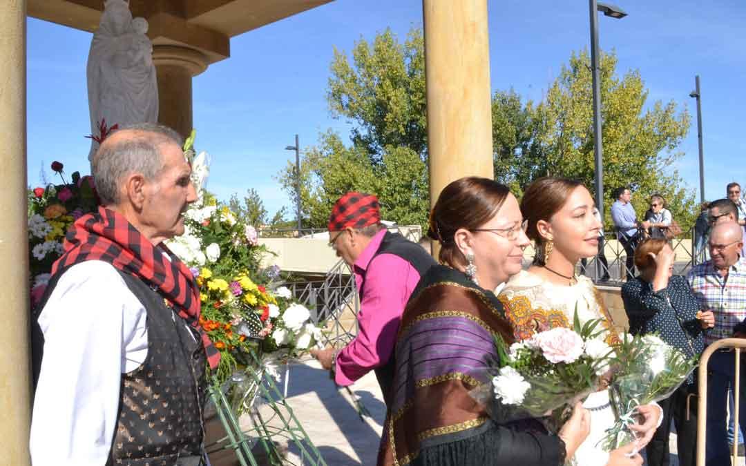 ofrenda flores alcaniz pilar