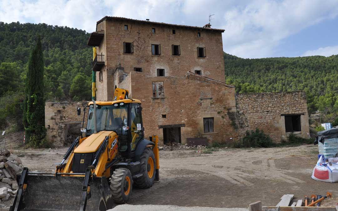 Obras Torre del Marqués