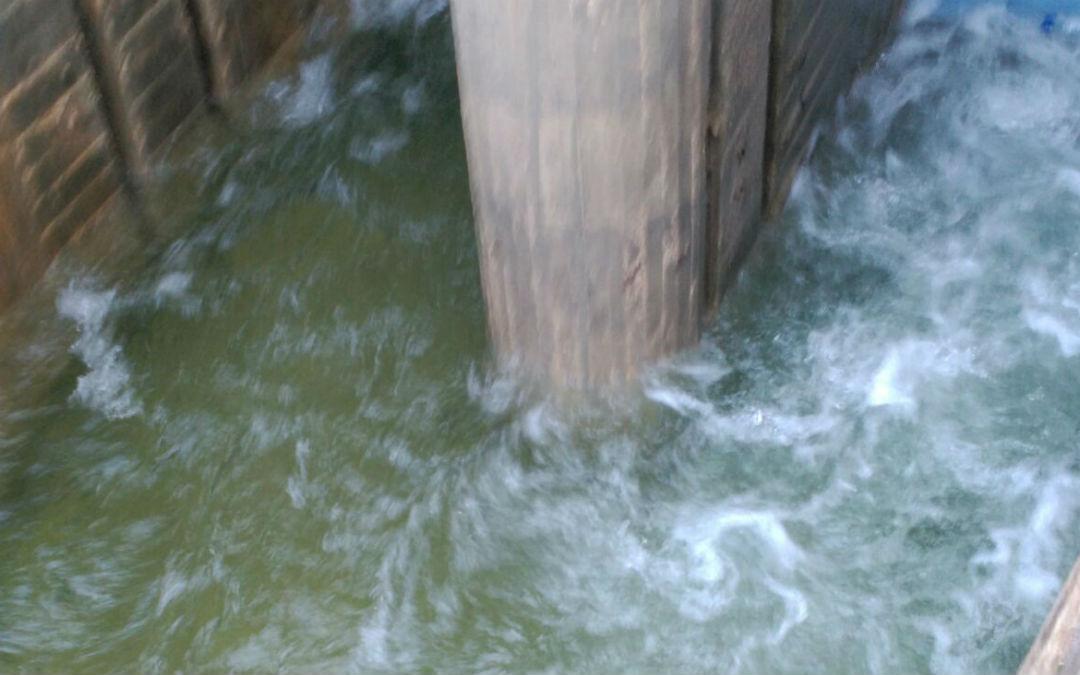Los 2 m3/s de caudal que lleva el Matarraña se desvían íntegramente al Embalse de Pena