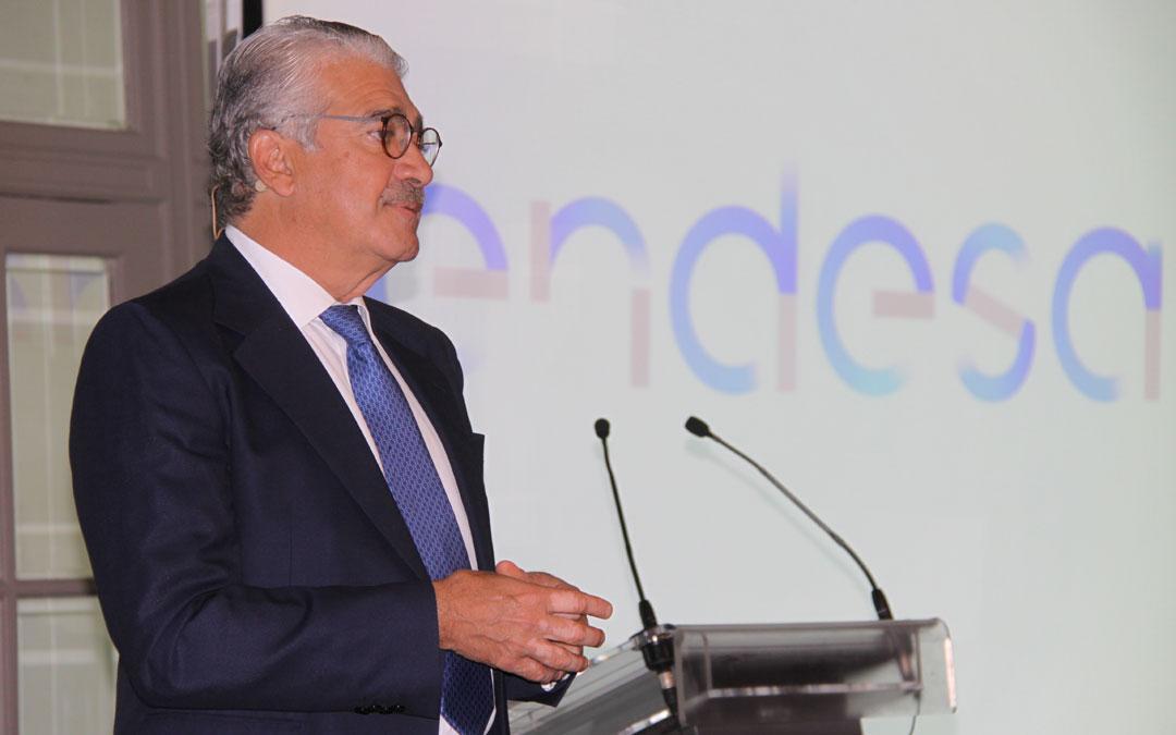 El consejero delegado de Endesa, José Bogas, presentó el Plan Estratégico 2018-2021