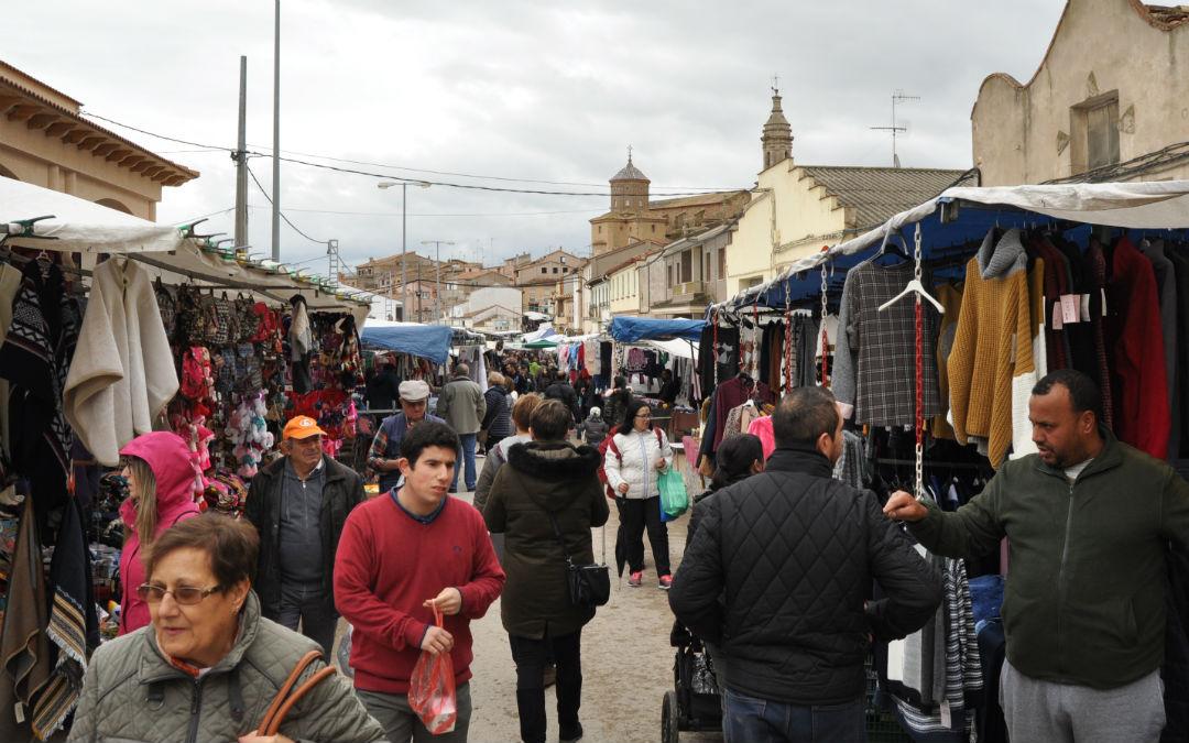 Celebración de la Feria de Aguaviva el año 2018.
