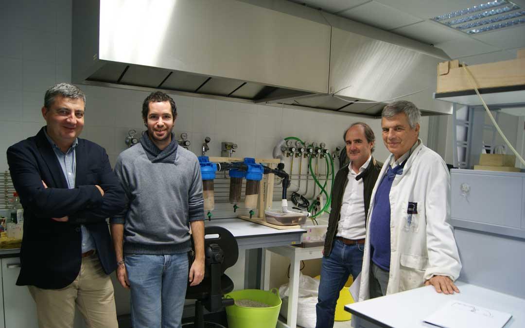 alabastro laboratorio equipo