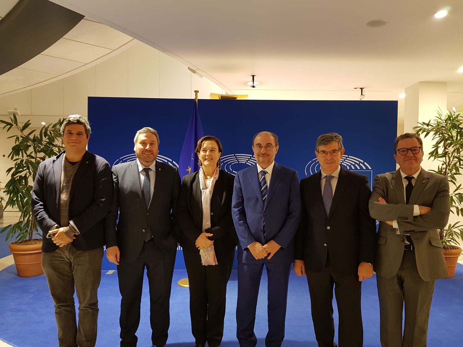 Delegación aragonesa y valenciana en Bruselas