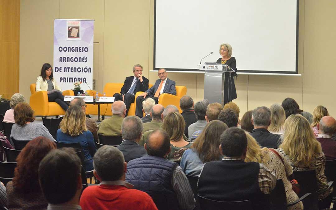 El 32º Congreso Aragonés de Atención Primaria se celebra hasta mañana en Zaragoza. Firma: Maas Zoom Comunicacion