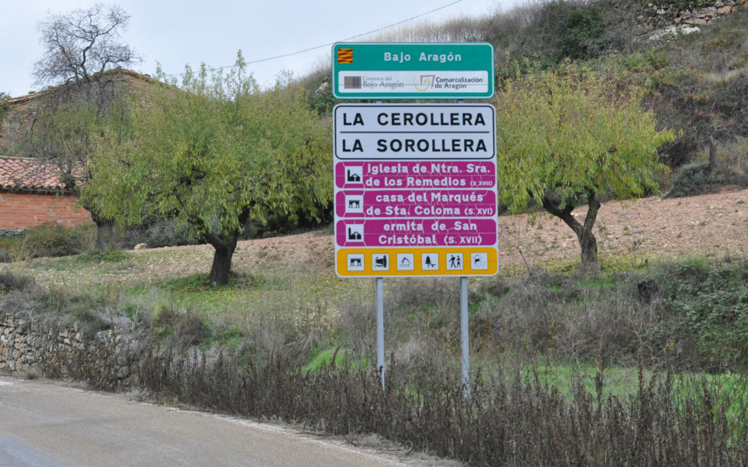 La Cerollera es una de las localidades del Bajo Aragón
