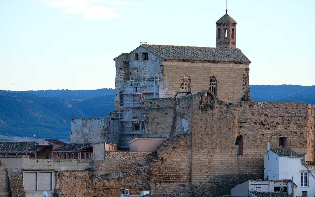 muro-islamico-castillo-albalate
