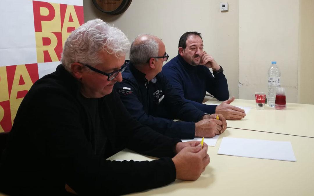 El acto tuvo lugar el viernes por la tarde en la localidad de Torre de Arcas