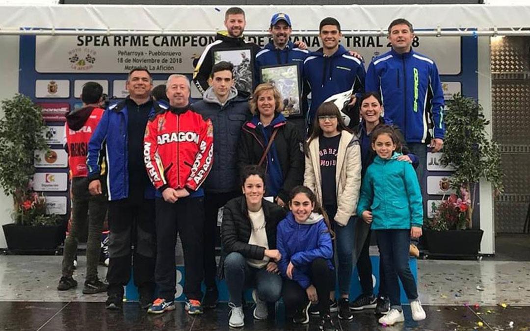 El Club Trial Matarraña consiguió el tercer puesto en puntuación. Raúl Guimerá quedó segundo en Junior.
