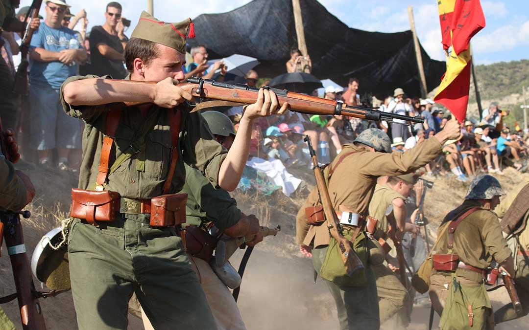 La recreación de la Batalla del Ebro de Fayón se convierte en Fiesta de Interés Turístico de Aragón