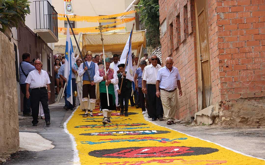 12 agosto alfombras aguaviva
