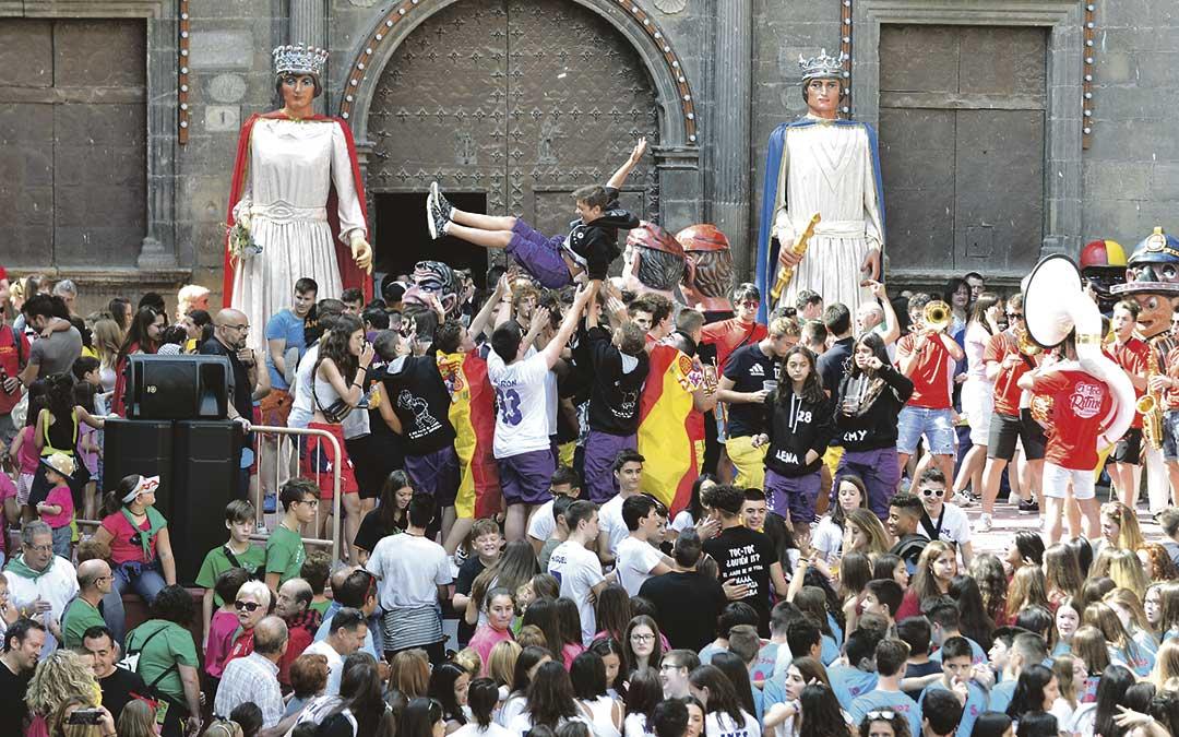 14 septiembre fiestas alcaniz chupinazo