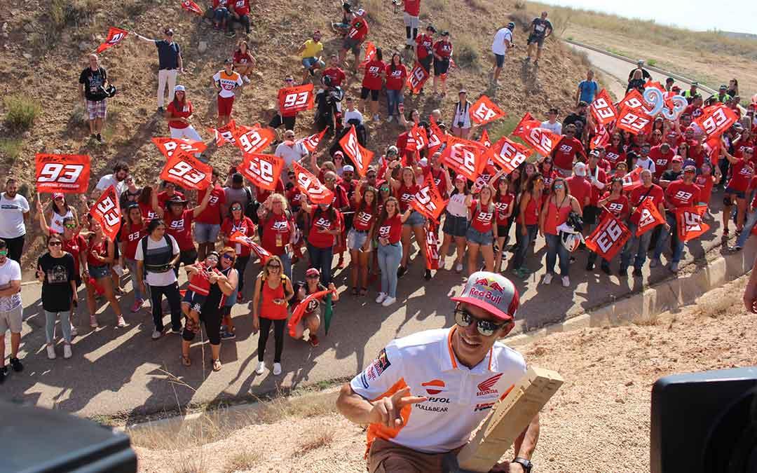 16 septiembre moto gp marc marquez curva club fans
