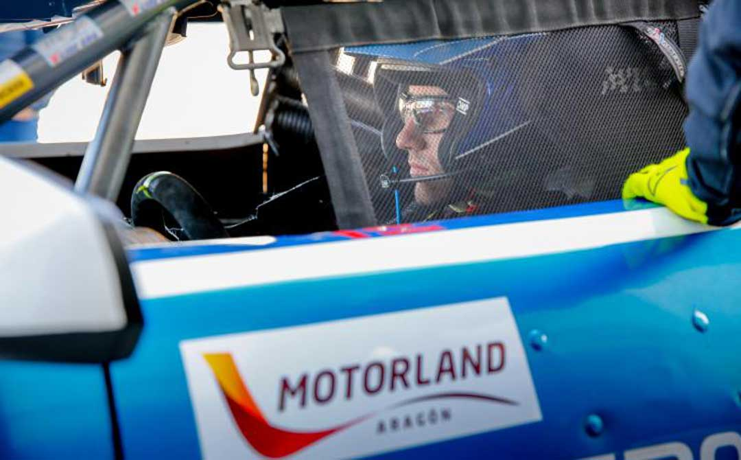 Rins compartió el volante del Transam Euro Camaro con José María Roger
