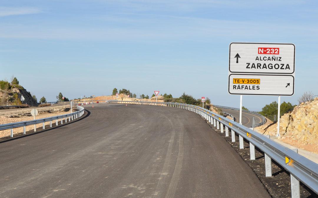 El nuevo tramo carretero y la conclusión del Puerto de Querol, acercarán Castelllón y Zaragoza