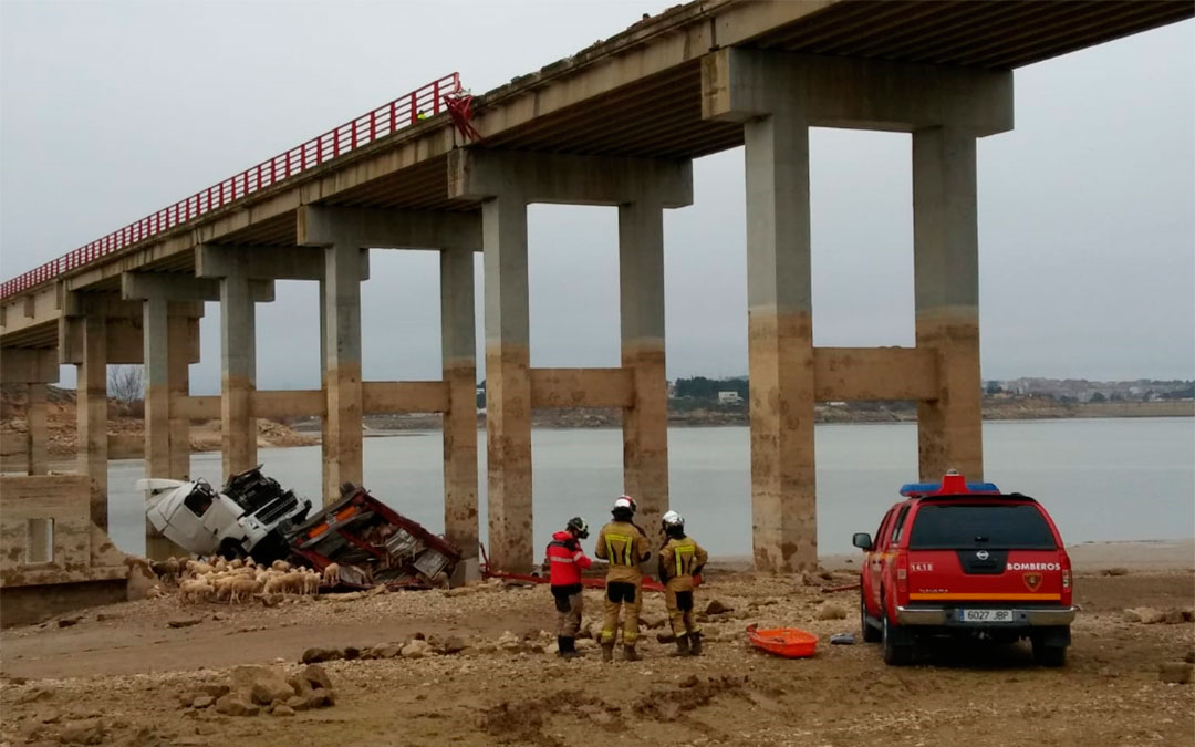 accidente caspe puente bujaraloz mequinenza dos