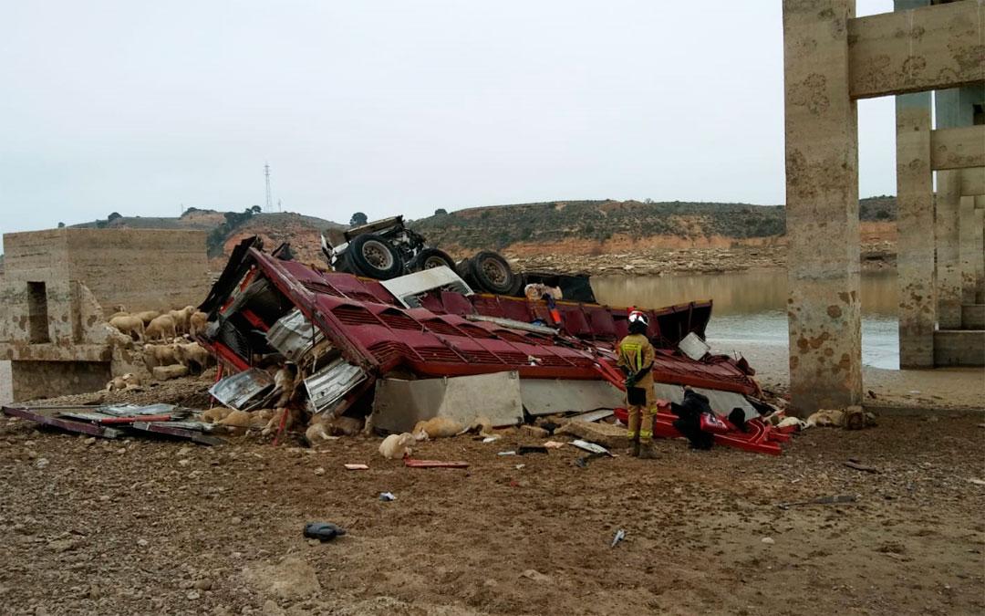 accidente caspe puente bujaraloz mequinenza
