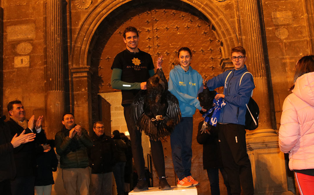 Alberto Sábado y Laura Paricio se llevan el Pavo a casa
