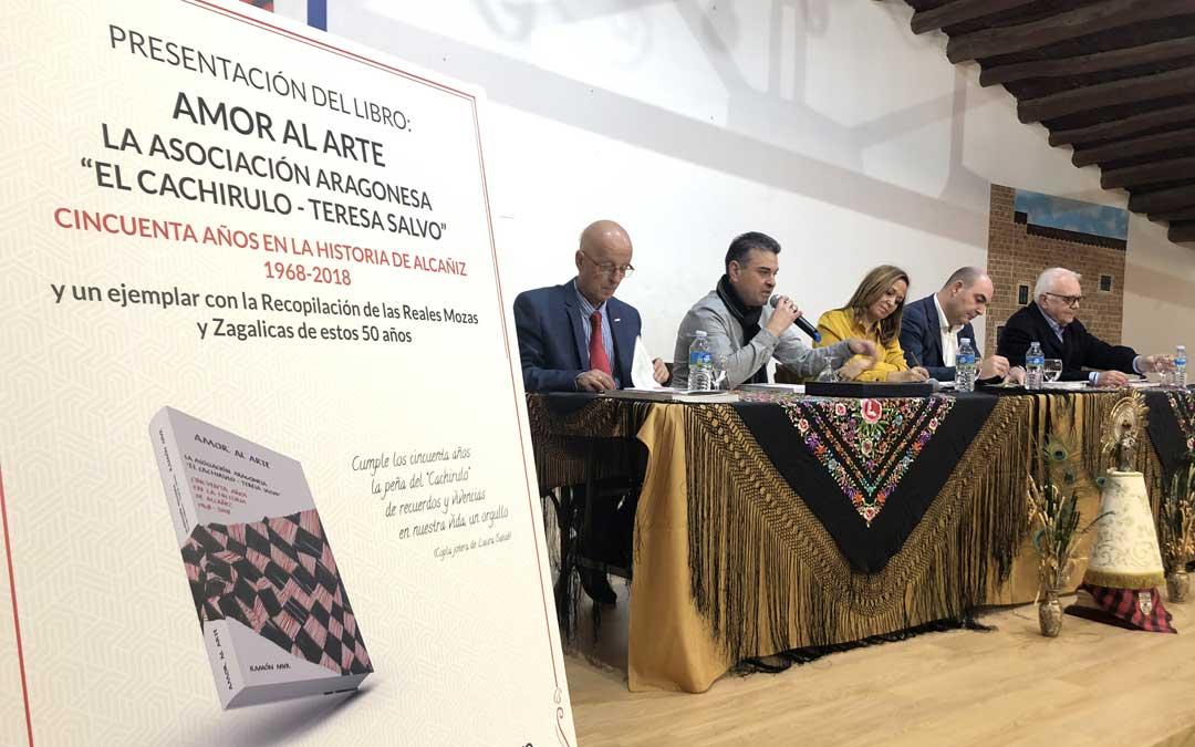 Presentación del Cahirulo con Ponz, Buisán, Pérez, Suso y Mur