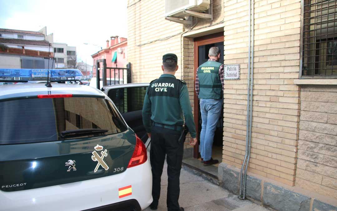 calanda robos viviendas guardia civil