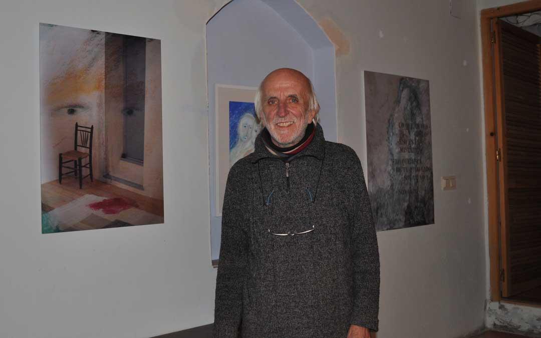 La planta inferior del hogar de Carlo y Esther es actualmente una galería de arte.