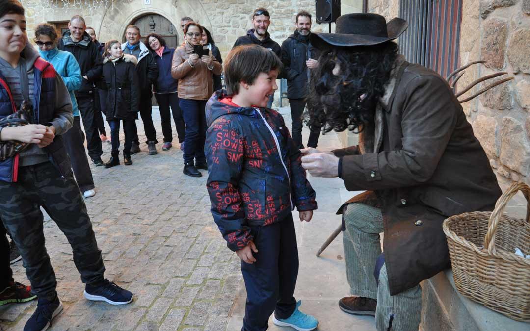 L'Home dels Nassos olió las mentiras de los niños cretenses