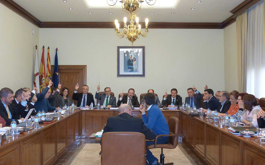 dpt pleno presupuestos diputacion provincial teruel