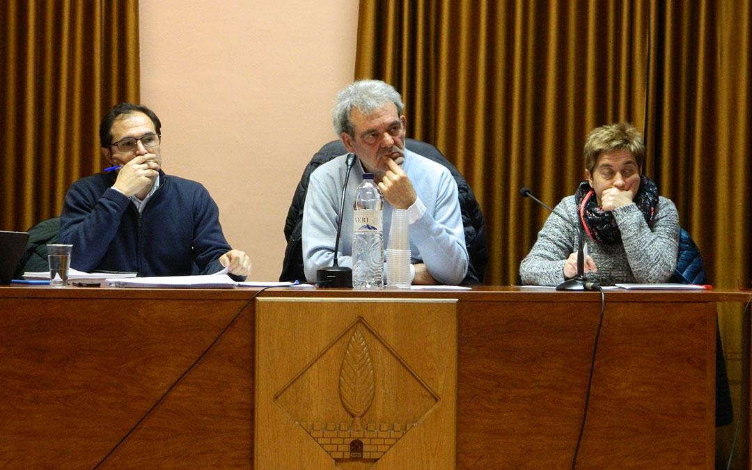 El Alcalde de Fabara y presidente comarcal es Francisco Domenech.
