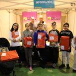 Foto de grupo de los ganadores de los juegos organizados por La COMARCA