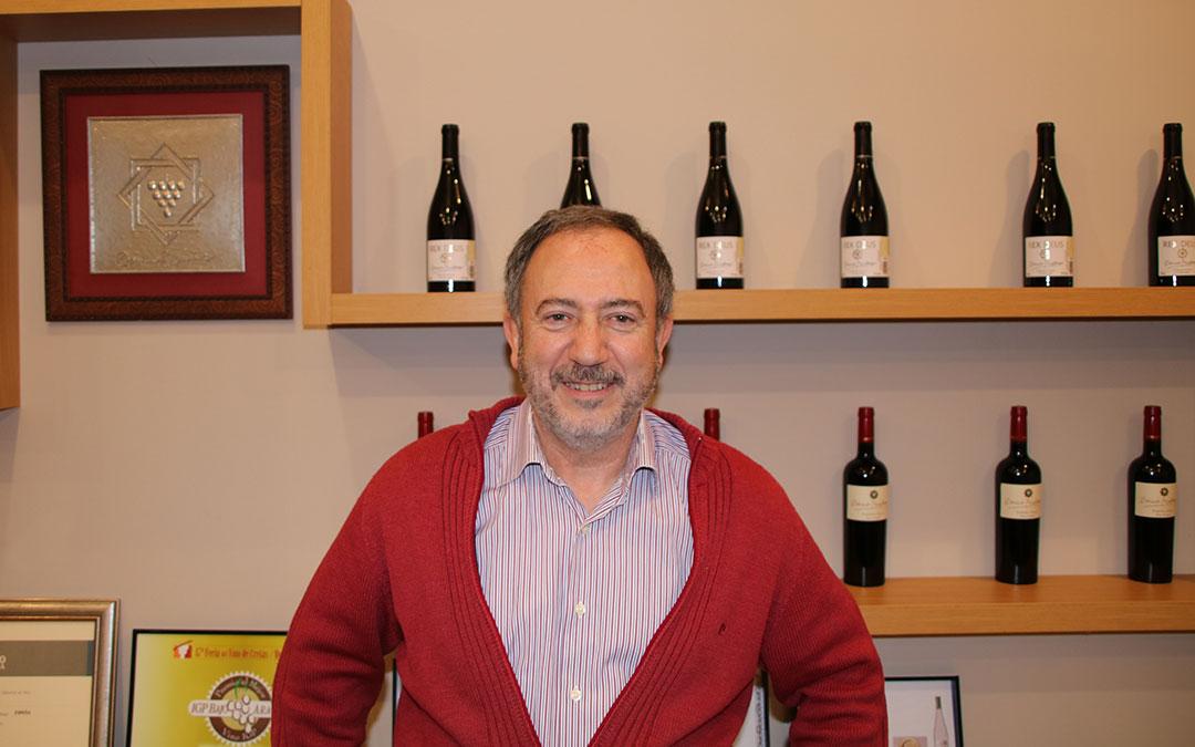 javier azuara presidente igp vinos de la tierra bajo aragon